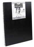 Royal Langnickel black sketch book - A3, 80 listov