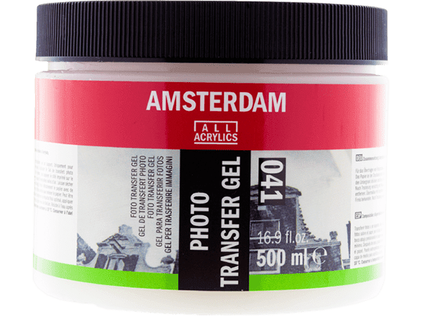 Photo Transfer Gel Médium, 500ml - Amsterdam