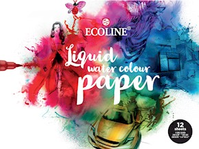 Ecoline Watercolour Paper - 12 listov